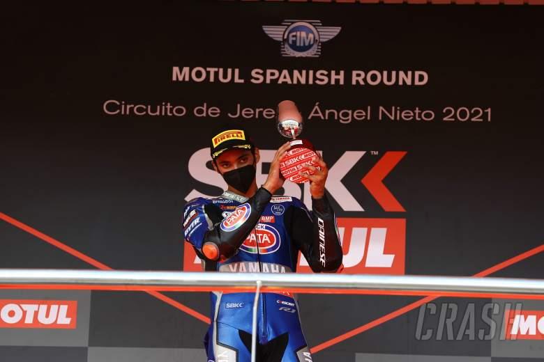 Toprak Razgatlioglu, Jerez WorldSBK race1, 26 September 2021