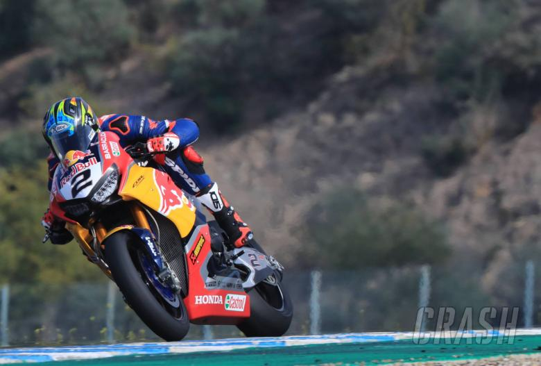 World Superbikes: Camier holds faith in Red Bull Honda progress