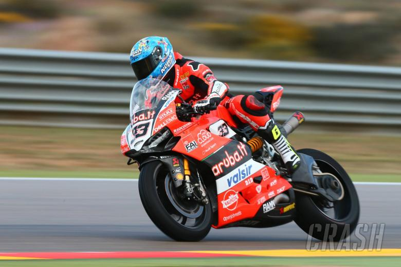 World Superbikes: Aragon - Free practice results (2)