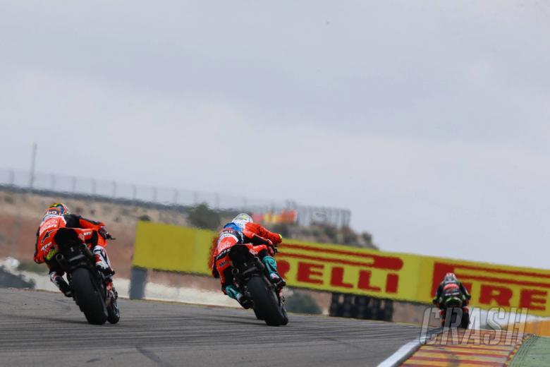 "World Superbikes: Melandri's Ducati instability issues curtails ""aggressive"" late attack"