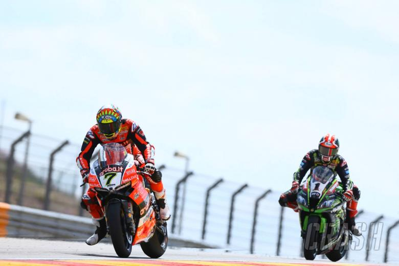 World Superbikes: Davies, Rea share top spot with equal times