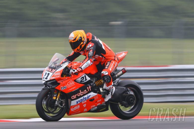 World Superbikes: Rinaldi tops drying FP1 as World Superbikes return to Brno