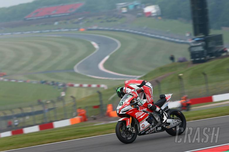 World Superbikes: Laverty forced out by stuck throttle for Milwaukee Aprilia