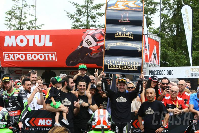 World Superbikes: Rea on record 60th win: I feel really fortunate