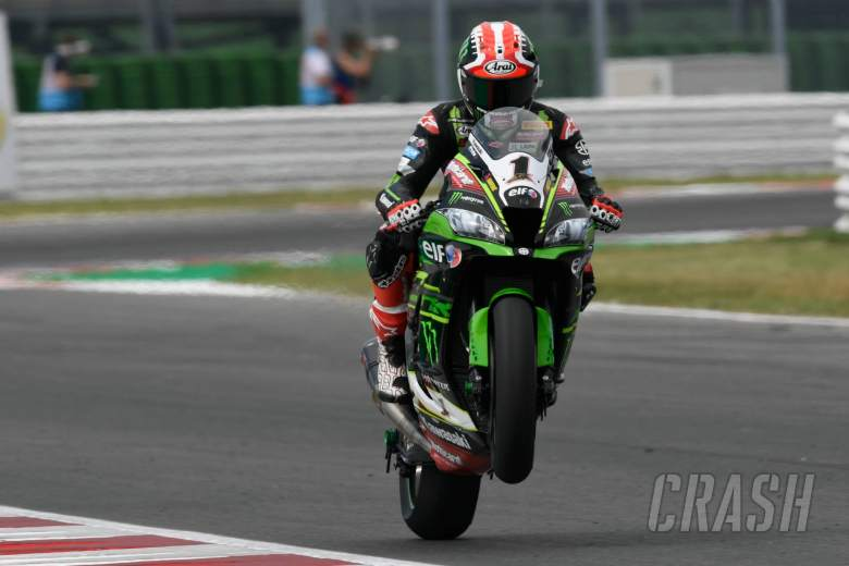 World Superbikes: Rea lays down marker at Misano