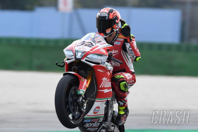 World Superbikes: Misano - Combined free practice results