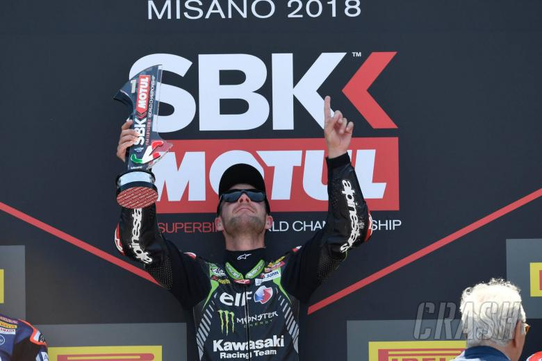 World Superbikes: Rea 'really hard work' to complete Misano double