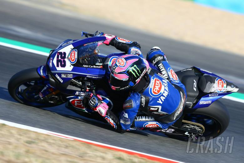 World Superbikes: Lowes leads first practice at new Villicum track