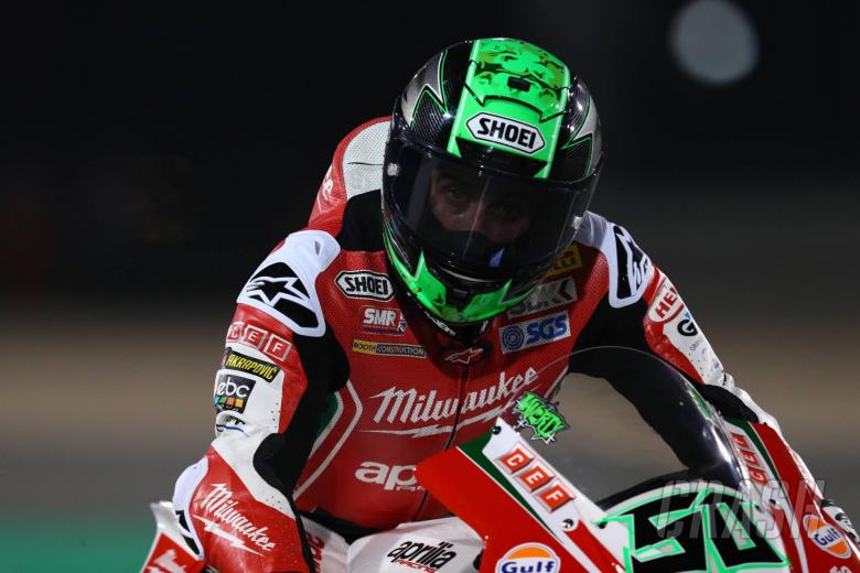 World Superbikes: Laverty gets 'tyred' at final turn