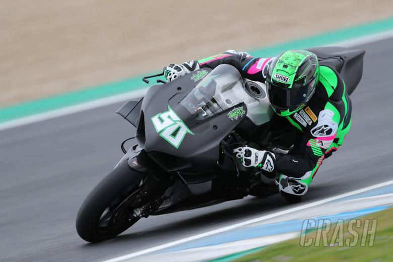 World Superbikes: Laverty ready to push for performance after Ducati V4 R debut