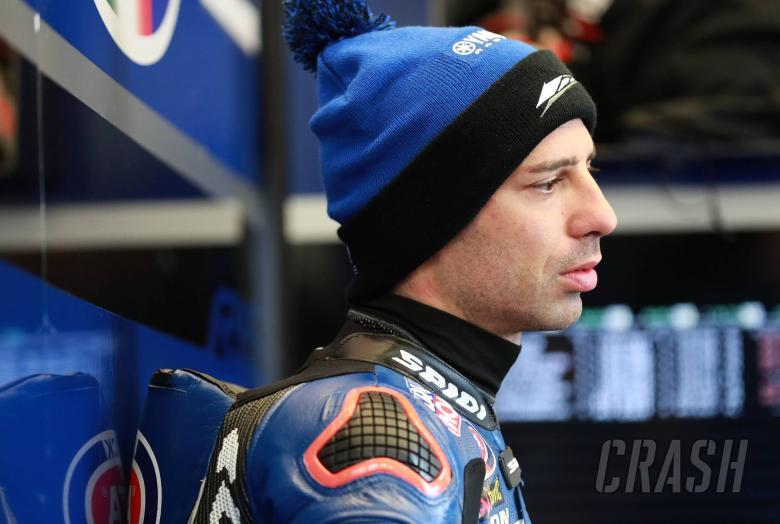 World Superbikes: Melandri: Yamaha not responding to my riding style