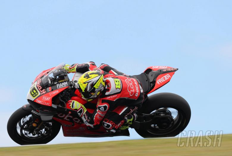 World Superbikes: Bautista leads Rea after trading top times