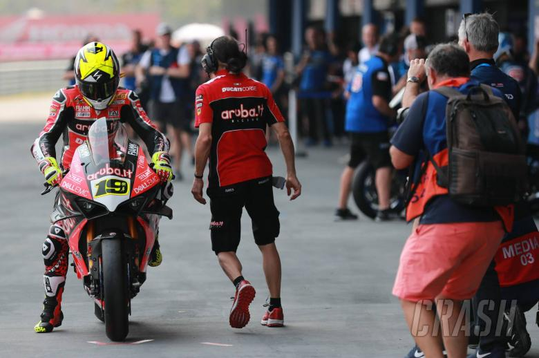 World Superbikes: Bautista, Davies commence two-day Ducati V4 R Aragon test