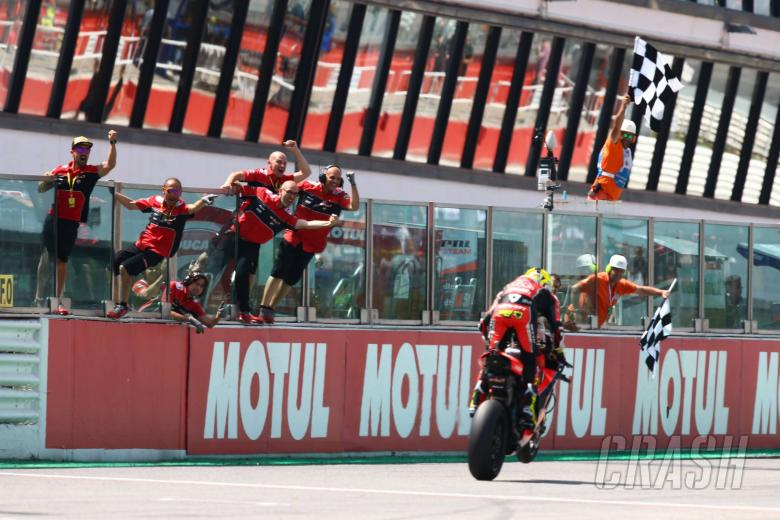 Bautista back to winning ways as Rea recovers from freak crash