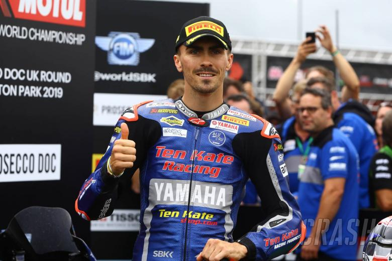 Baz finds his groove to lead Yamaha effort at Donington