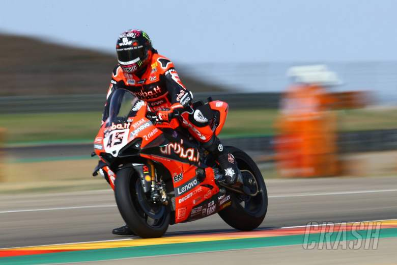 Ducati and Yamaha headline two-day WorldSBK Aragon test