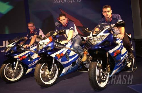 British Suzuki squad goes public.