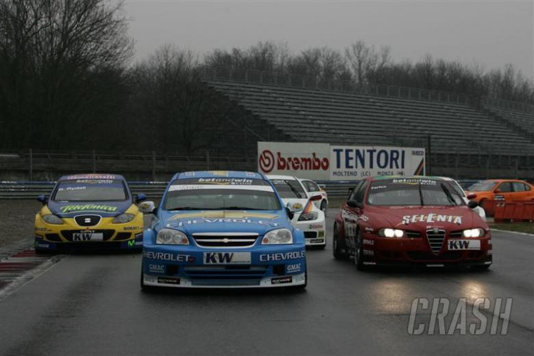 Monza - a driver's eye view.