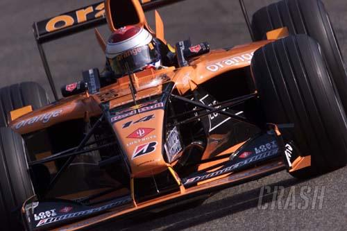 Arrows confirms Cosworth supply for 2002.