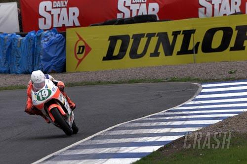 Padgett's happy with progress at Brands Hatch.