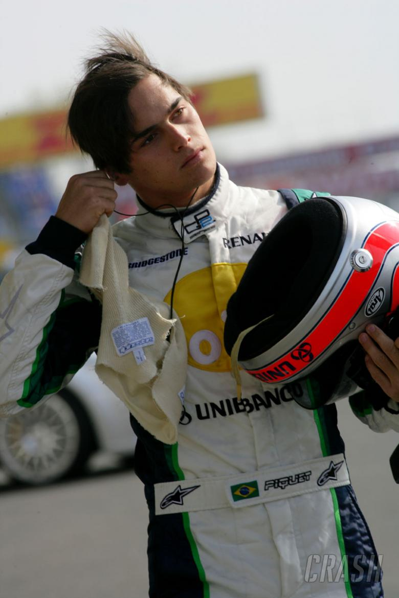Nurburgring 2006: Hamilton beats penalty and rest.