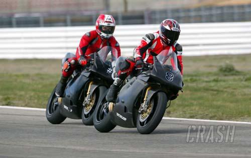 Shakey 'n' Rutter steal the show at Donington.