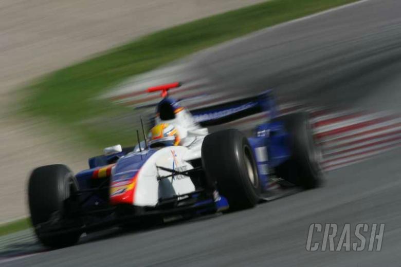 Barcelona 2007: Glock makes amends in sprint.