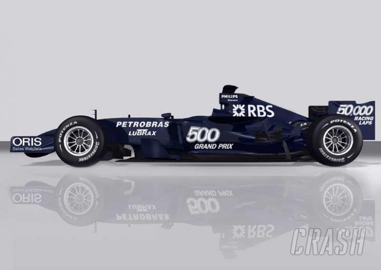 Williams colours landmark season.
