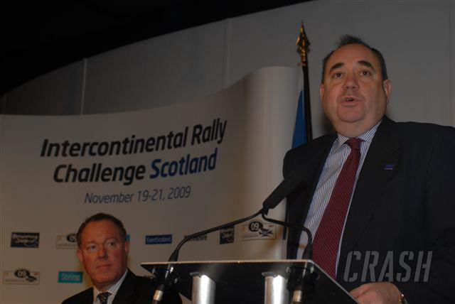 IRC: Scotland to stage final round in '09.