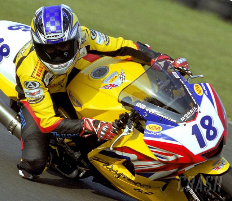 Points mark Triumph's race return.