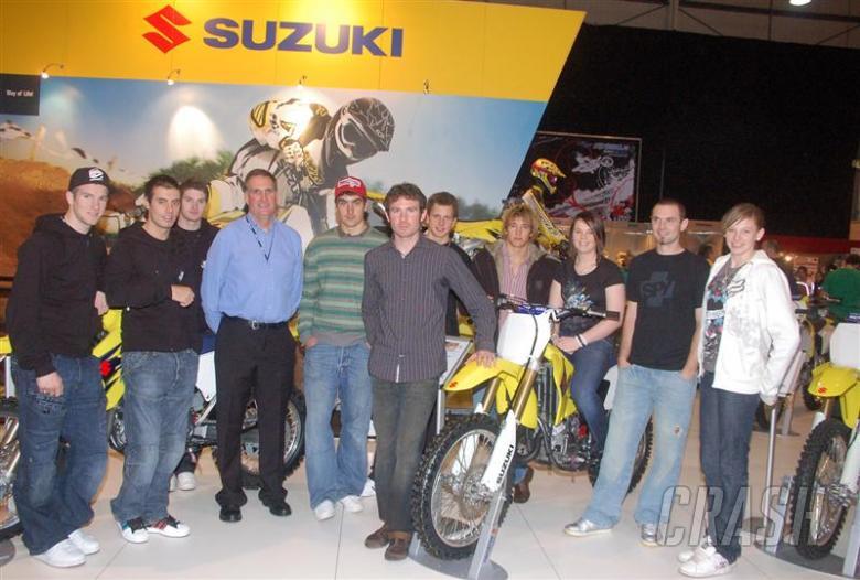 Suzuki GB reveals line-up.