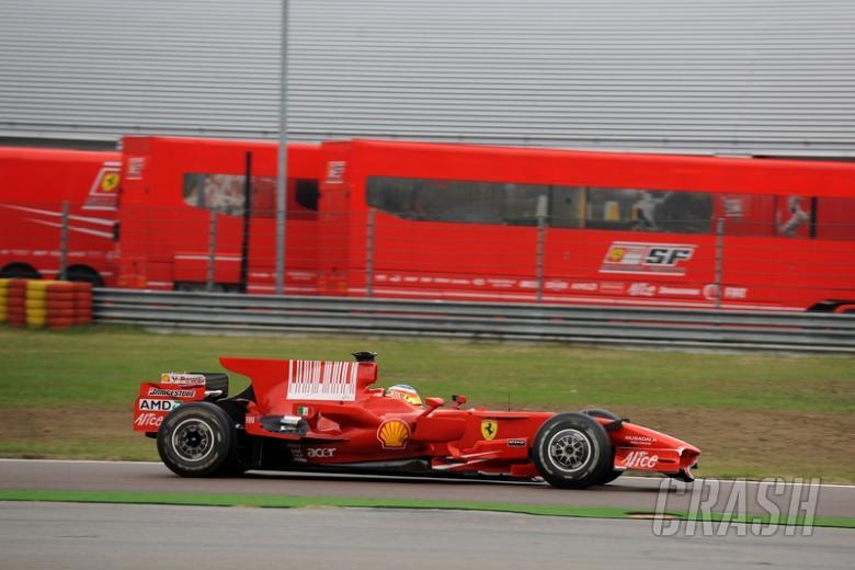 Ferrari test no help for Bortolotti.