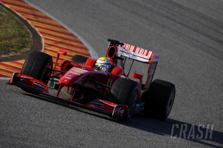 Massa continues Ferrari's Mugello test.