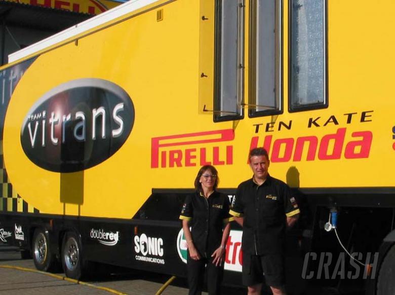 Team Vitrans in for long haul.