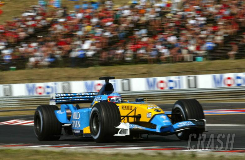 Hungarian GP 2003 - Alonso sweeps the field.