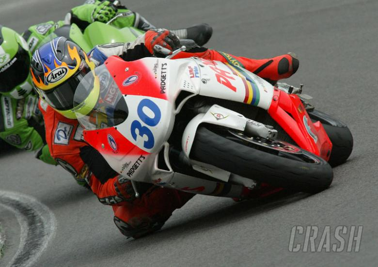 Coates makes top six for Padgett's at Cadwell.