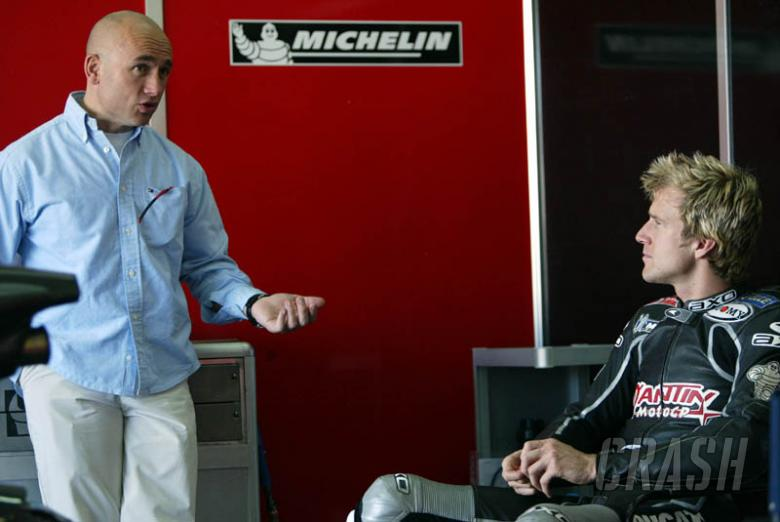 Hodgson 'learning to ride again'.