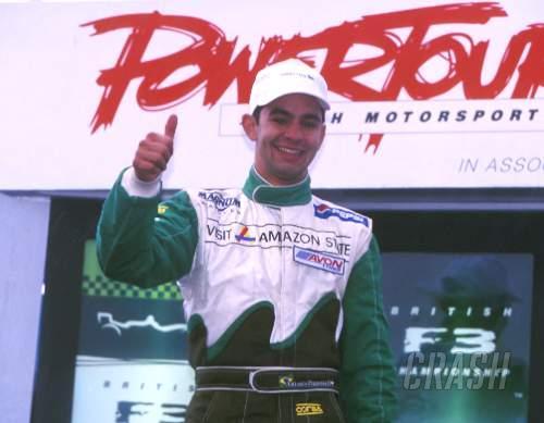 Pizzonia's title, Monteiro's race.