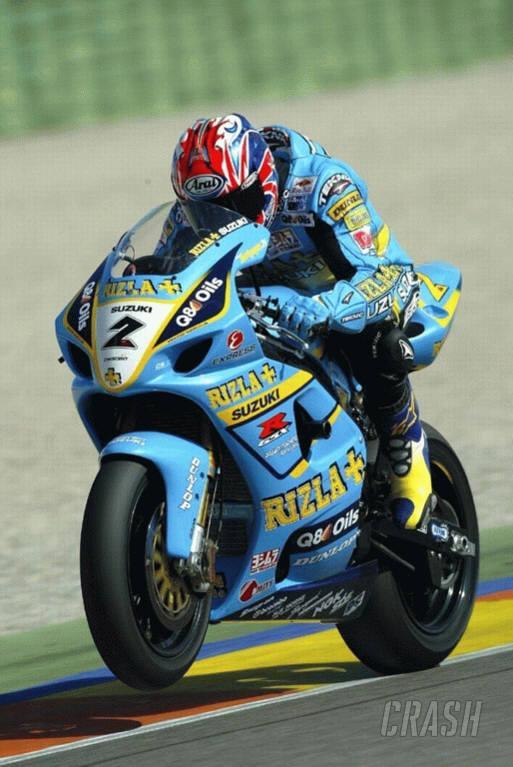 Reynolds laps at MotoGP pace.