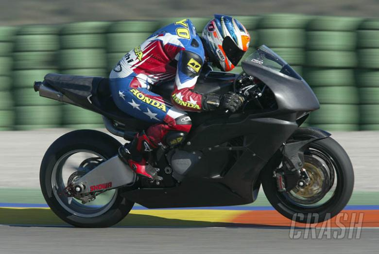 Fireblade unleashed on BSB this weekend.