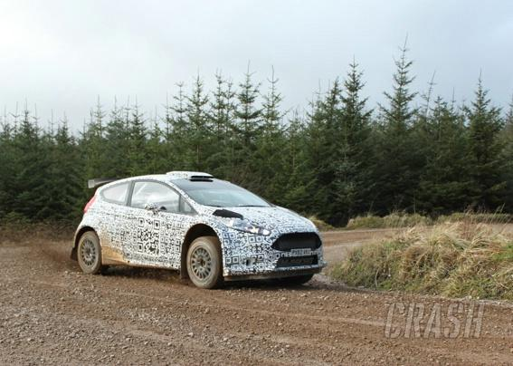 Wilson Jr gives Fiesta R5 debut public outing