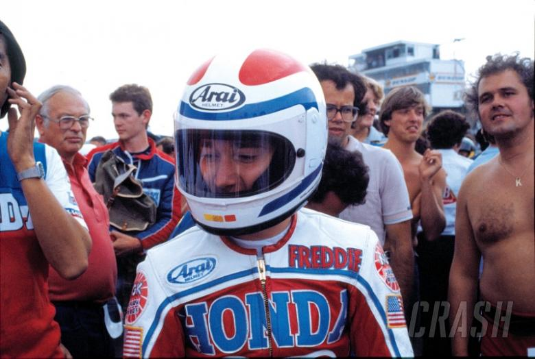 Freddie Spencer 'honoured' by Classic TT role