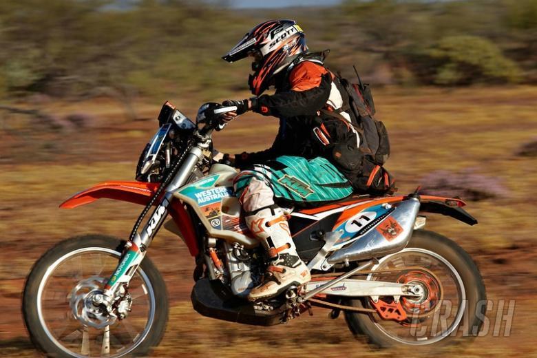 Alister McRae wins class on Australasian Safari