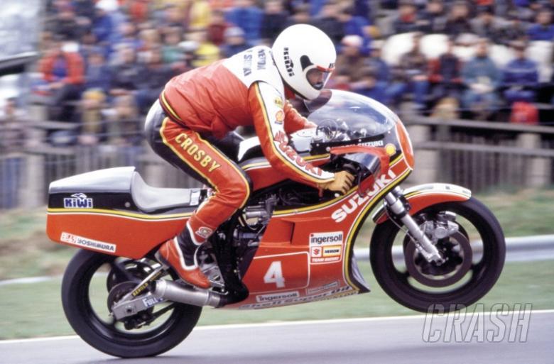Classic TT: Graeme Crosby confirmed for Joey tribute lap