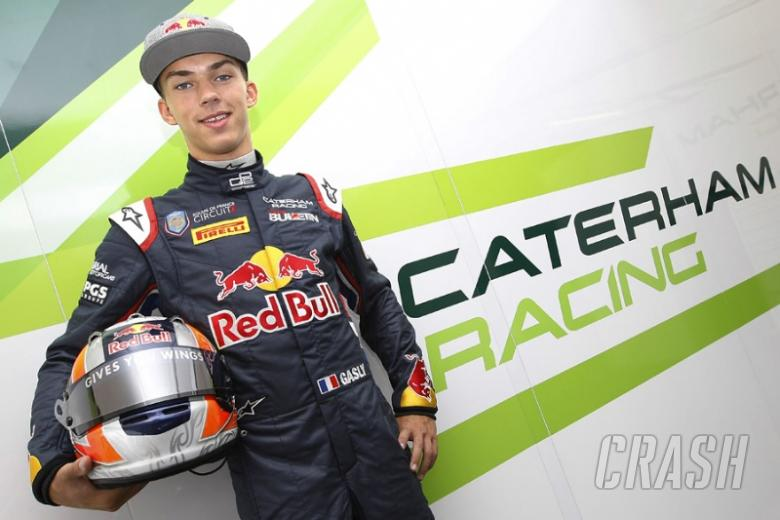 Gasly replaces Dillmann at Caterham