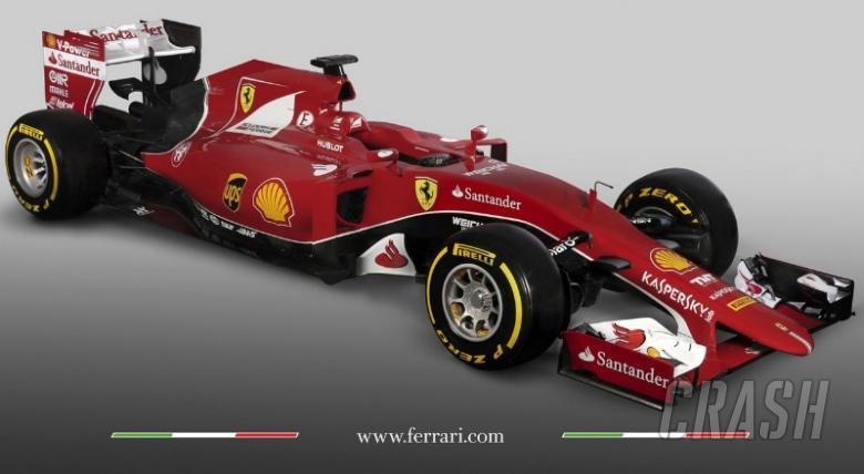 Ferrari reveals SF15-T