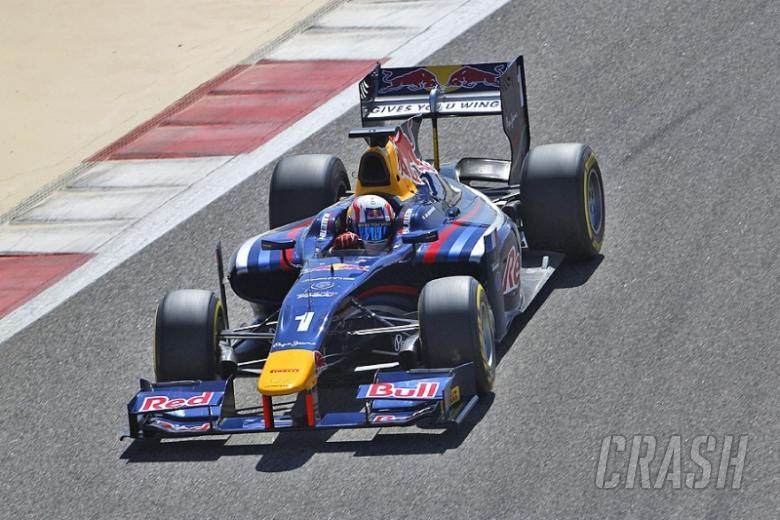 GP2 pre-season testing results, Barcelona [D3 combined]