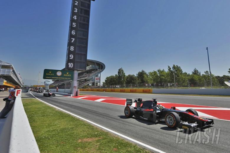 Barcelona: GP2 qualifying session results