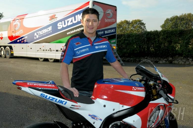 Kiyonari gaining feeling with Bennetts Suzuki