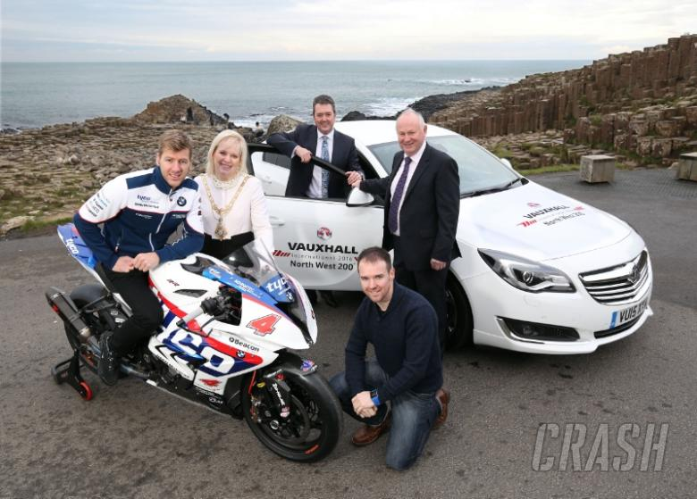 Vauxhall confirmed as NW200 title sponsors for 2016
